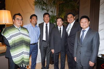 Paul Su, John Hsu, Kent Sy, Wen Hou, Calvin Lo and Gary Chien