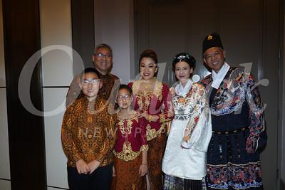 Winston, Shawn and Morgan Chou, Luyi Khasi, Michelle Yu and Troy Kuo