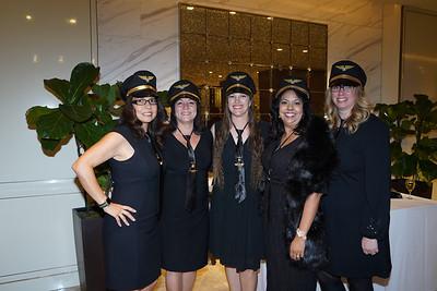 Michiko Lee, Nicolette Fuerst, Lauren Shen, Christina Pink and Stefanie Killackey