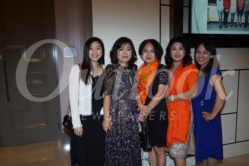 Simin Pan, Huiwen Pan, Ann Chen, Lily Li and Linda Zou