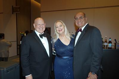 John Incontro with Nicole and Teddy Basseri