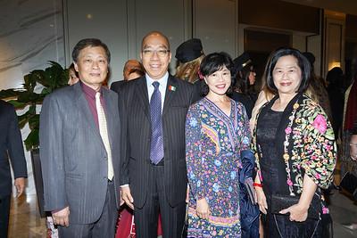 Richard Sun, Peter Wong, Vivian Wong and Ivy Sun