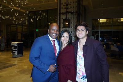 Issaic Gates, Gabrielle Carlton and Elijah Carlton