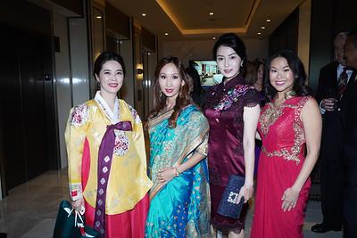 Sun Young, Jessica Tran, Grace Li and Michelle Tang