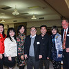 Erica Chiang, Chun-Yen Chen, Nancy Lee, C. Joseph Chang, Jesse Hong, Jenny Chiang and Bob Houston