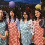 12 Anne Su, Sandra Chen, Sri Abboy and Vilma Luk