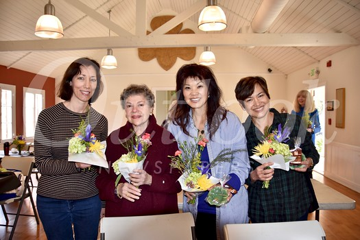 Connie Knott, Marilyn Peck, Patricia Tom Mar  and Lisa Wong