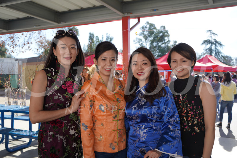 Yvonne Cheng, Lindsey Huang, Shirley Lee and Joyce Lin