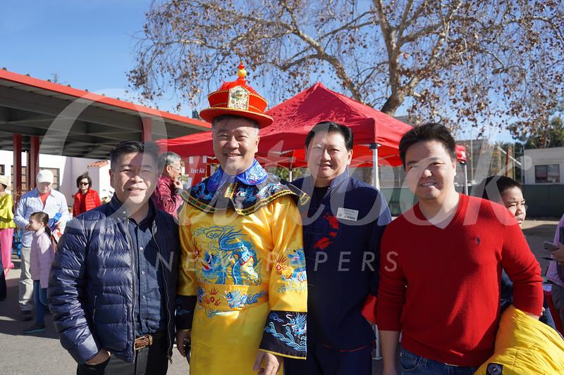 Jesse Hong, Alan Chan, David Wang and Richard Lin