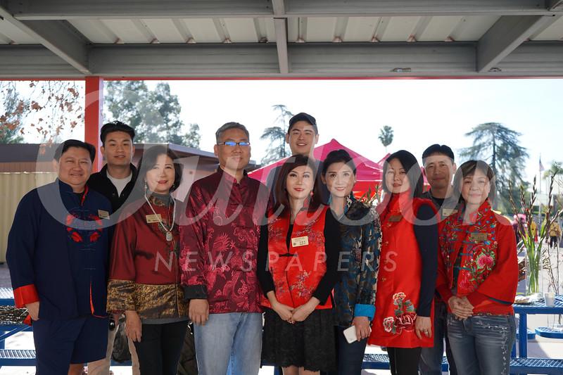 Chinese Club of San Marino board members include David Wang, Tony Chou, Nancy Lee, President Shawn Chou, Young Chang, Vice President Maggie Lee, Erica Chiang, Jennifer Wi, Johan Lin and Jenny Chiang.
