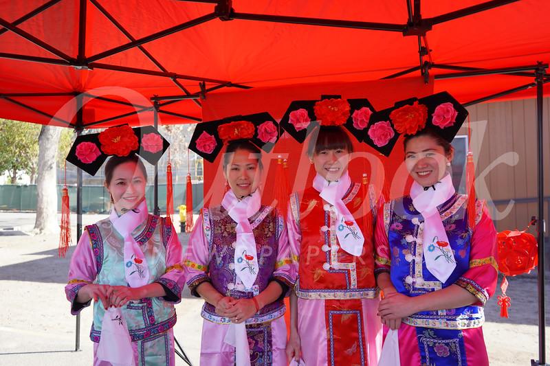 Carolyn Peng, Caroline Chang, Ruby Gau and Elena Hsu