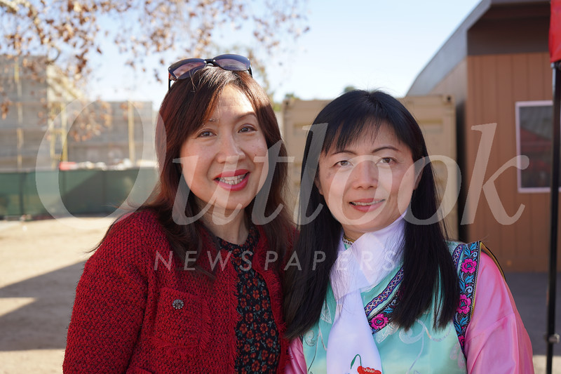 Annie Brassard and Rose Chen