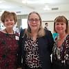 Susan Jakubowski, Irene McDermott and Marlene Evans