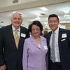 James Angelos, Marina Wang and Brian Park