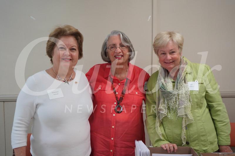 Maryann Seduski, Jeannette Guluzian and Jan Pearson
