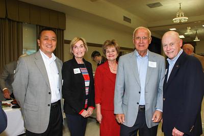 Hunter Chang, Virginia Randall, Susan Jakubowski, Eldon Swanson and Corky Conzonire