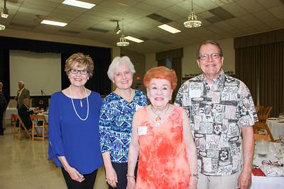 Sue Spence, Ave Bortz, Lucille Norberg and Will Bortz