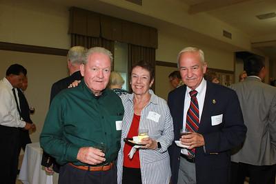 Richard Thomas, Oli Rohrer and Bruce Davis