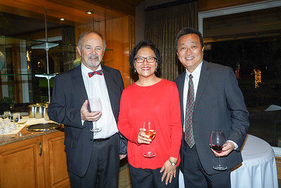 Charles Patterson, Annie Han and Hunter Chang