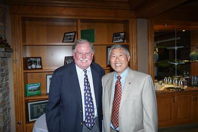Bob Houston and Isaac Hung