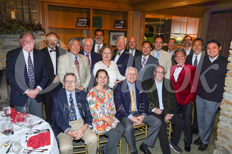 City Club stalwarts include Will Bortz (front row, from left), Kaili Chang, Jim Angelos, Kelly Ryan, Ed Tom and Calvin Lo. Middle row: Bob Houston, Charles Patterson, Isaac Hung, Joe Gorman, Maryann Seduski, Dick Pearson, Stephen Choi, Larry Yang and Hunter Chang. Back: Louis Pastis, Paul Lakon, Robert Tam and Jim Tripodes.