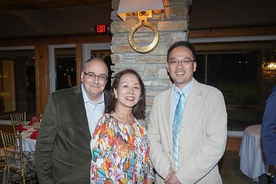 Kelly Ryan, Kaili Chang and Larry Yang