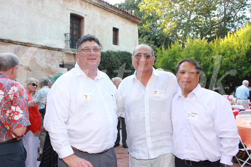 Dan Hodgkiss, Teddy Basseri and Jonathan David