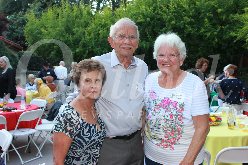 Maria and John McClurg with Janet Lanz