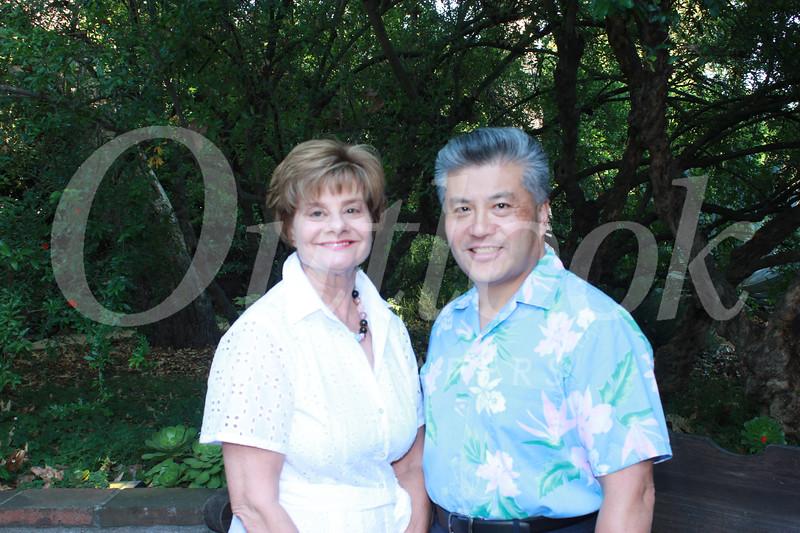 Susan Jakubowski and Frank Chen