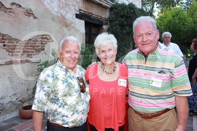 Dave Bryan, Sandra Troup and Richard Thomas