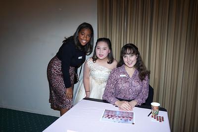 09380 Princess Michael Wilkins, Samantha Hu and Princess Emilie Risha