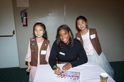 09312 Elise Zhu, Princess Michael Wilkins and Kate Zhang