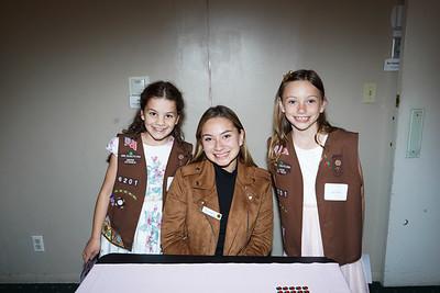 09304 Emily Pagano, Princess Mia Thorsen and Eily Sullivan
