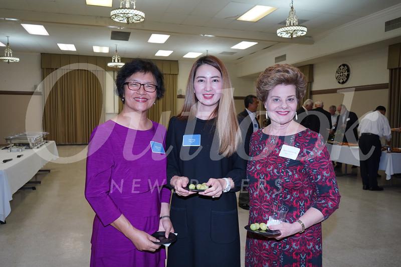 Annie Han, Iris Yang and Susan Jakubowski