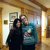 Pamela McSweeny and Mary Haltom