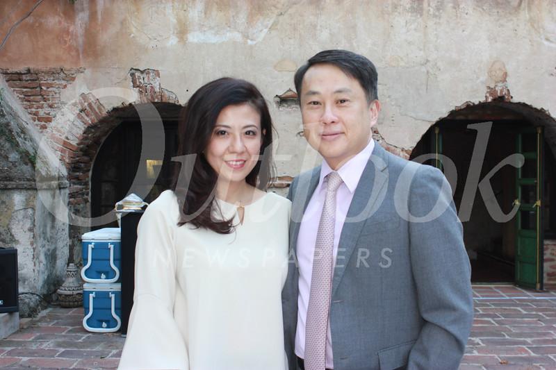Lindsey and Dr  Steven Huang