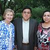 Nancy Hoffman, Philip Lao and Isabel Castro