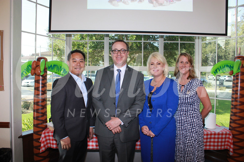 Stephen Choi, Alex Cherniss, Linda de la Torre and Julie Boucher