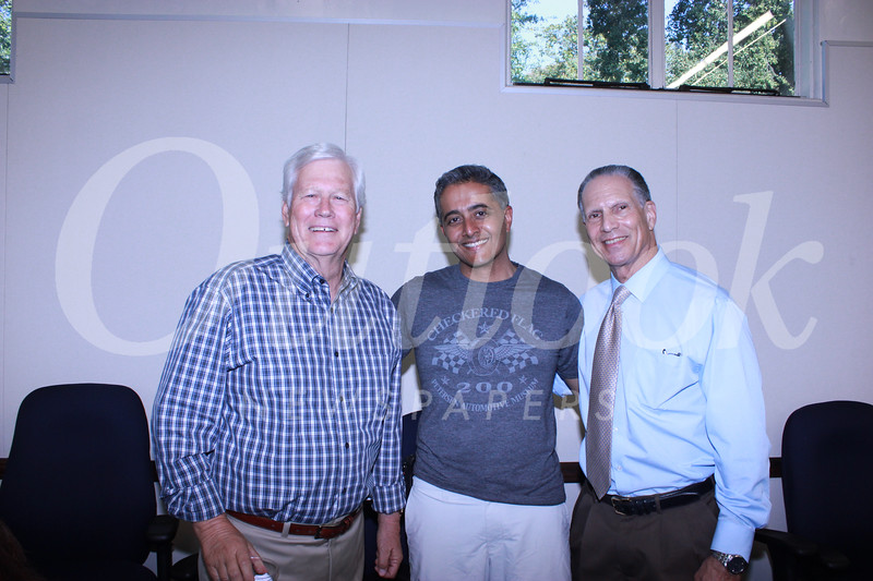 Richard Pearson, Ananth Natarajan and Loren Kleinrock