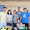 Chinese Club of San Marino President Alan Chen, Maggie Lee, Shirley Lee, Shawn Chou, Fiona Chen and David Wang