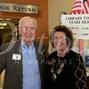 4 Library Board of Trustees Members Eldon Swanson and Sue Boegh