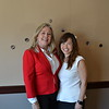 Mayor Gretchen Shepherd Romey with emcee Gloria Wong