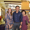 Ann Gluck with Brent Chang and Linda Chang