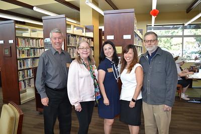 Steve Domier, Irene McDermott, Genevieve Chien, Gloria Wong and Jeff Plumley