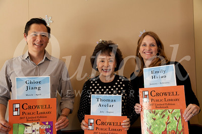 6Brent Chang, Linda Chang and Anna Gluck (bookmark sponsors)