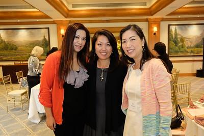 Sylvia Koh, Jennifer Chuang and Brenda Ho