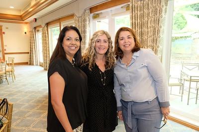 Christina Pink, Caroline Diver and Eileen Cameron