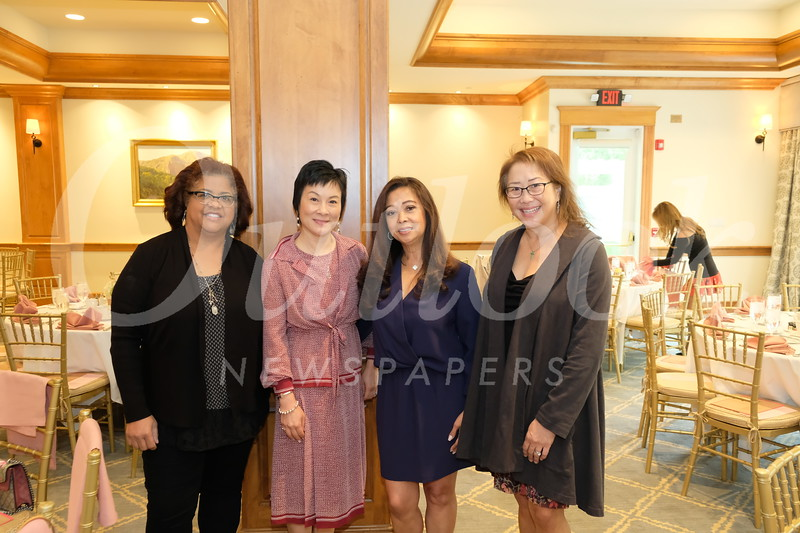 Allison Byrne, Angela Liang, Dina McCall and Diana David