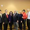 Dr. Steven Huang, mayor of San Marino; San Gabriel City Councilman Chin Ho Liao; state Senators Susan Rubio and Anthony Portantino; South Pasadena Mayor Pro Tem Robert Joe; and Hilda Tsang and Daryl Chan