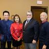 Arcadia Mayor Sho Tay, Sherry Tay, state Sen. Anthony Portantino and South Pasadena Mayor Pro Tem Robert Joe